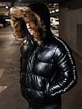 Мужская зимняя куртка Philipp Plein, чоловічий зимовий пуховик Philipp Plein, зимняя куртка Филипп Плейн, фото 5