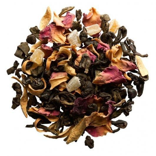 Чай зеленый Манговый рай крупно листовой Tea Star 100 гр Германия
