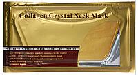 Золотая маска для шеи с коллагеном Collagen Crystal Neck Mask