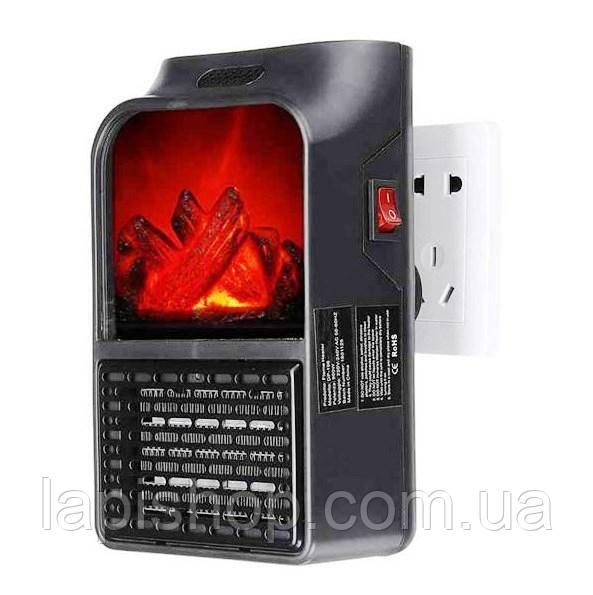 Компактный обогреватель камин мини быстрое тепло Flame Heater 900W