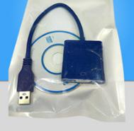 Конвертер с USB 3.0 на VGA (пакет)