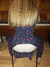 Пижама с карманом на попе Попожама