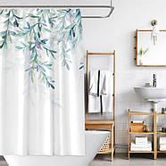 Тканевая шторка для ванной 180х200 см Нежность, фото 2