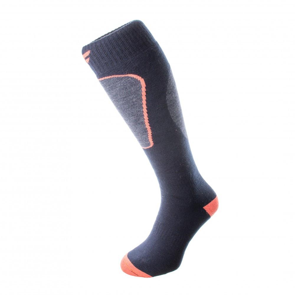 Шкарпетки лижні 4F Warm 43-46 navylight-orange