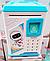 Электронная детская Копилка сейф с отпечатком пальца и кодовым замком «BODYGUARD» + купюроприемник, фото 6