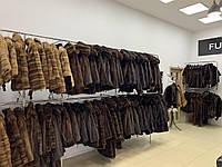 Кашемірове пальто жіноче з хутряним коміром під соболь песець