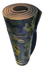 Каремат армейский камуфлированный «СКАУТ» 1800x550x10 мм