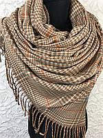 Теплий м'який шарф в дрібну клітку - купити на Kosinka.net
