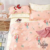 Подростковый комплект постельного белья сатин-твил 436