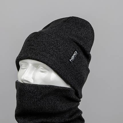 "Комплект шапка и баф ""Остин"", фото 2"