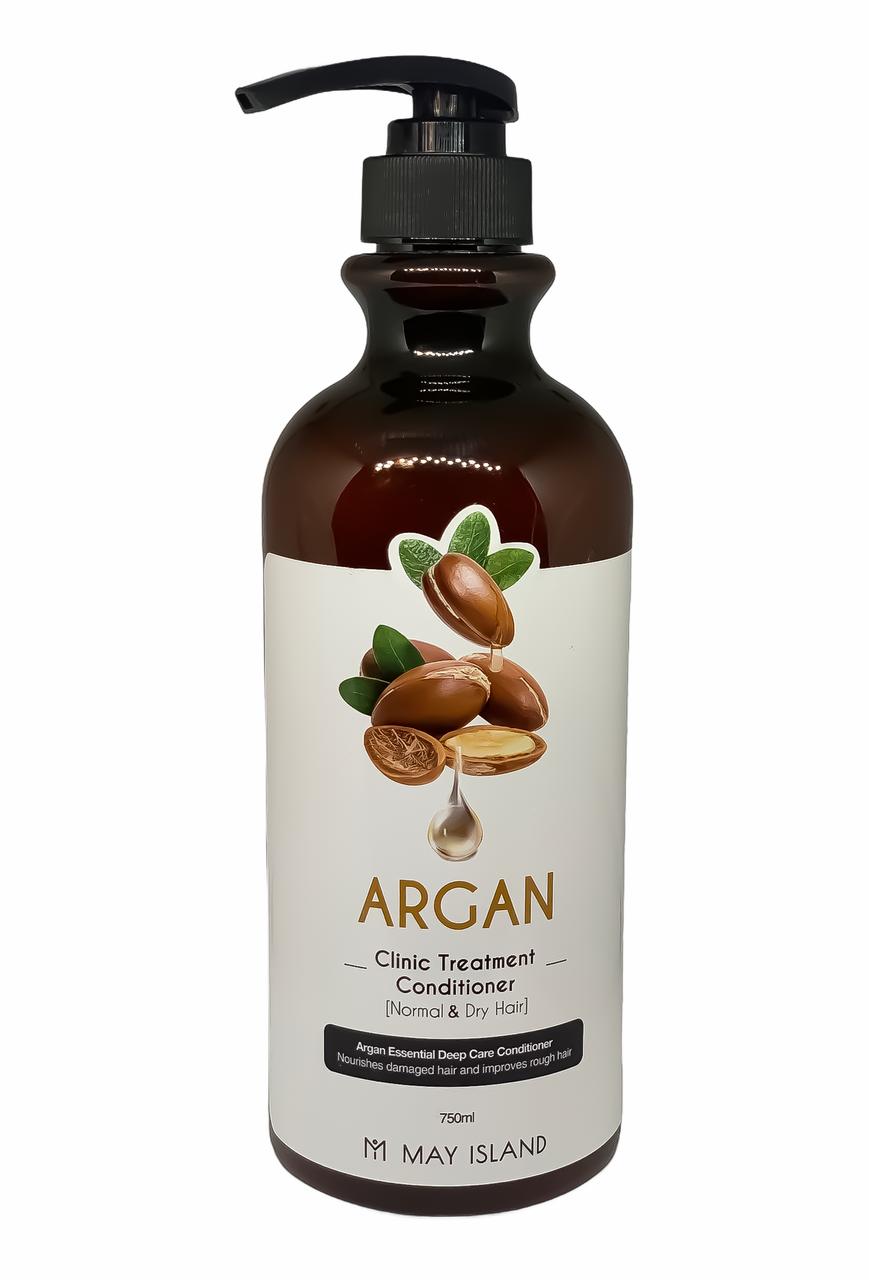 Відновлювальний кондиціонер для волосся May Island Argan Clinic Treatment conditioner