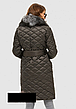 Женское зимнее пальто с натуральным мехом разеры:44-50, фото 5