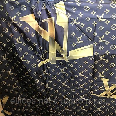 Пеньюар Louis Vuitton CD-1238 крупный рисунок золото