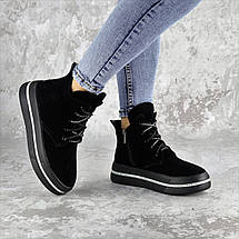 Ботинки женские Fashion Ether 2253 36 размер 23,5 см Черный, фото 3