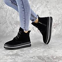 Ботинки женские Fashion Ether 2253 36 размер 23,5 см Черный, фото 2