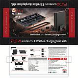 Вертикальная охлаждающая зарядная подставка DOBE для Sony Playstation 4 Slim / PS4 Pro, фото 3