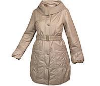 Пальто демисезонное женское с капюшоном City Classic Сити Классик