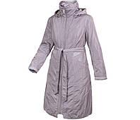Пальто демисезонное женское City Classic Сити Классик с капюшоном весна осень