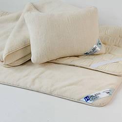 Элитная подушка с шерсти овец мериносов. Шерсть/шерсть. Разные размеры. Гарантия 60 месяцев