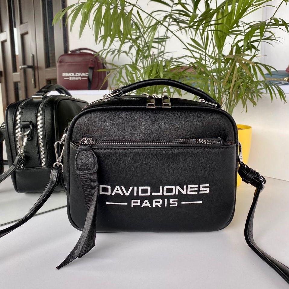 Женская сумка David Jones Sporty черная СДС24