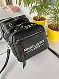 Женская сумка David Jones Sporty черная СДС24, фото 2