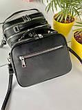 Женская сумка David Jones Sporty черная СДС24, фото 4