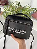 Женская сумка David Jones Sporty черная СДС24, фото 5