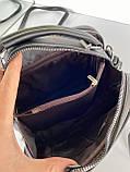Женская сумка David Jones Sporty черная СДС24, фото 10
