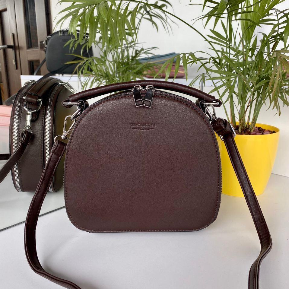 Женская сумка David Jones Classic горячий шоколад ДДЖ59