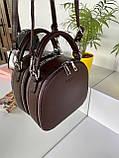 Женская сумка David Jones Classic горячий шоколад ДДЖ59, фото 2