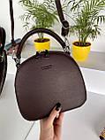 Женская сумка David Jones Classic горячий шоколад ДДЖ59, фото 4