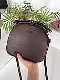 Женская сумка David Jones Classic горячий шоколад ДДЖ59, фото 8