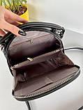 Женская сумка David Jones Classic горячий шоколад ДДЖ59, фото 9