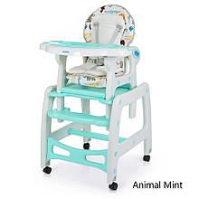 Стульчик для кормления трансформер Bambi animal 1563