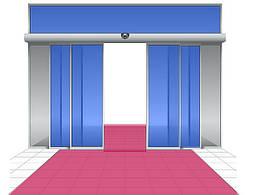 Механизм для Автоматических Телескопических Раздвижных Дверей Dorma ES200
