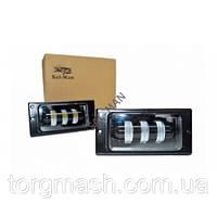 ВТФ LED Протитуманні фари ВАЗ 2110 2-х режимні білий+жовтий SAL-MAN
