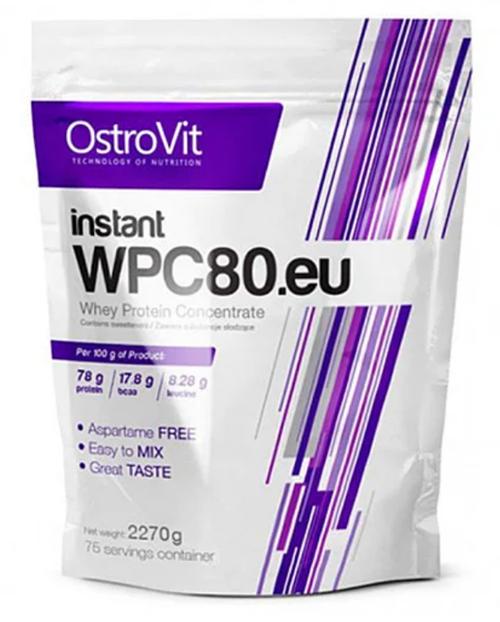 Сироватковий протеїн OstroVit WPC80.eu 2,27 kg