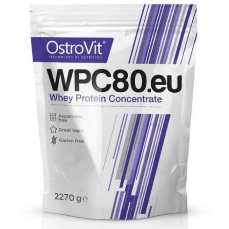 Сироватковий протеїн OstroVit WPC80.eu 900 g