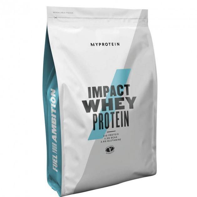 Протеин сывороточный MyProtein Impact Whey Protein (без вкуса) 1 kg