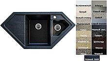 Мийка кухонна гранітна Platinum PANDORA 9950 W матова (19 різних варіантів кольору)