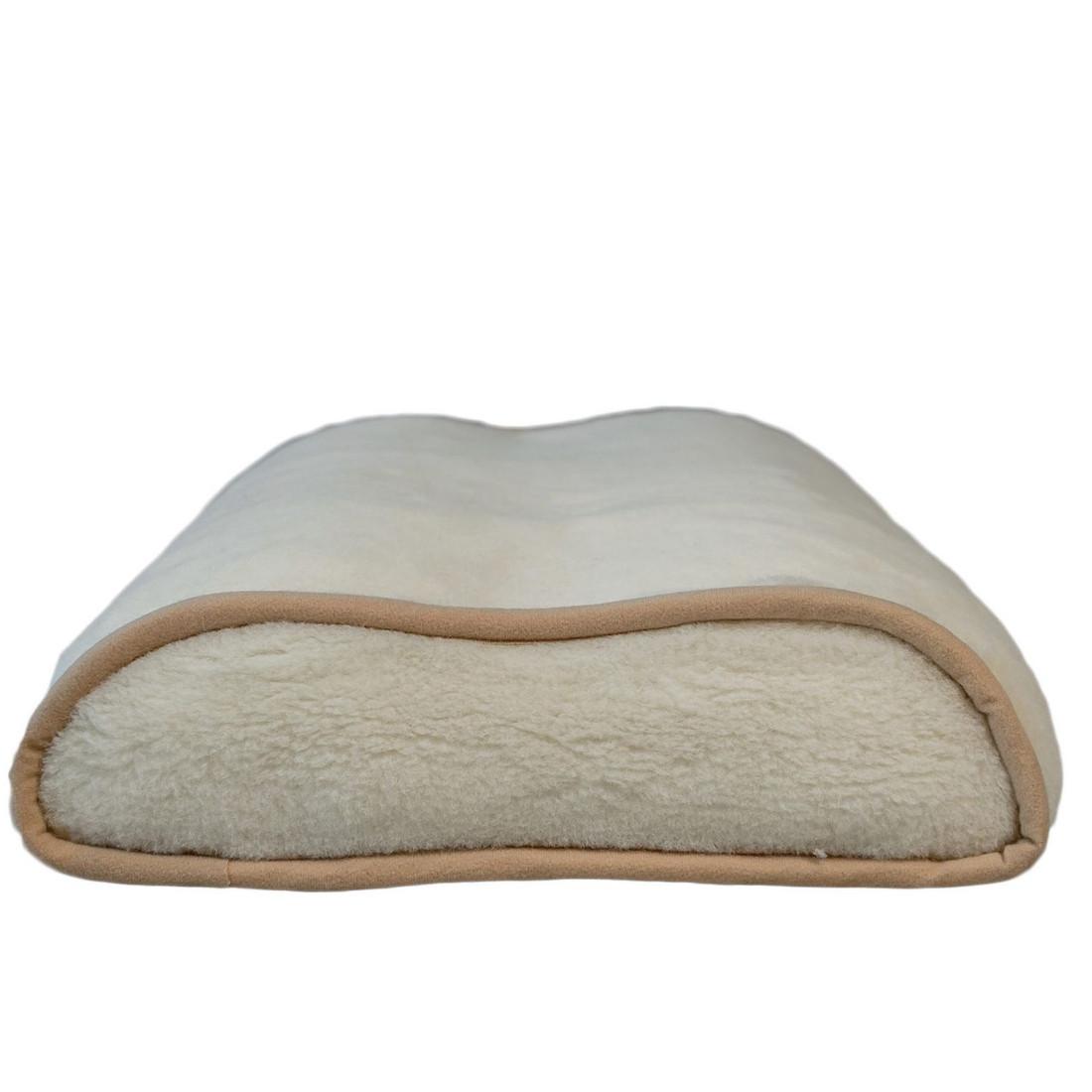 Подушка ортопедическая с шерсти мериносов. Гарантия 60 месяцев