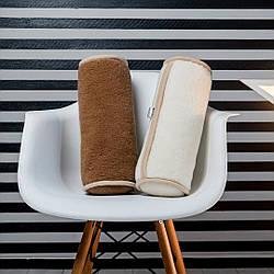 Ортопедическая подушка-валик с шерсти мериносов. Гарантия 60 месяцев