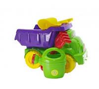 Набор песочный №2 013565 (Салатовый/Фиолетовый), игрушки в песочницу,игрушки для улицы,игрушки для