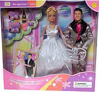 Кукла DEFA 20991 жених и невеста, в кор-ке, куклы,куклы типа барби,кукла барби