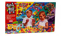 "Набор креативного творчества 7858DT ""4в1 BIG CREATIVE BOX"", детский пластилин,наборы для творчества,тесто для"