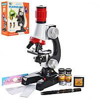 Микроскоп SK 0008 21см, детский микроскоп,телескоп детский,детский набор микроскоп и телескоп по