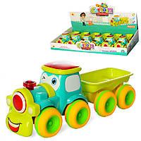 Паровоз с прицепом 0553, машинки для детей,детские машинки,машинка,игрушки для мальчиков