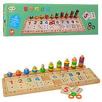 Деревянная игрушка Набор первоклассника MD 1313, игрушки для малышей,сотер,деревянные игрушки,самых маленьких