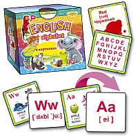 Alphabet в картинках MKO0003, детские развивающие настольные игры,игрушки для малышей,детская настольная