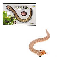 """Змея """"Rattle snake"""" на и/к управлении LY-9909C (коричневая), игрушки на радиоуправлении,интерактивная"""